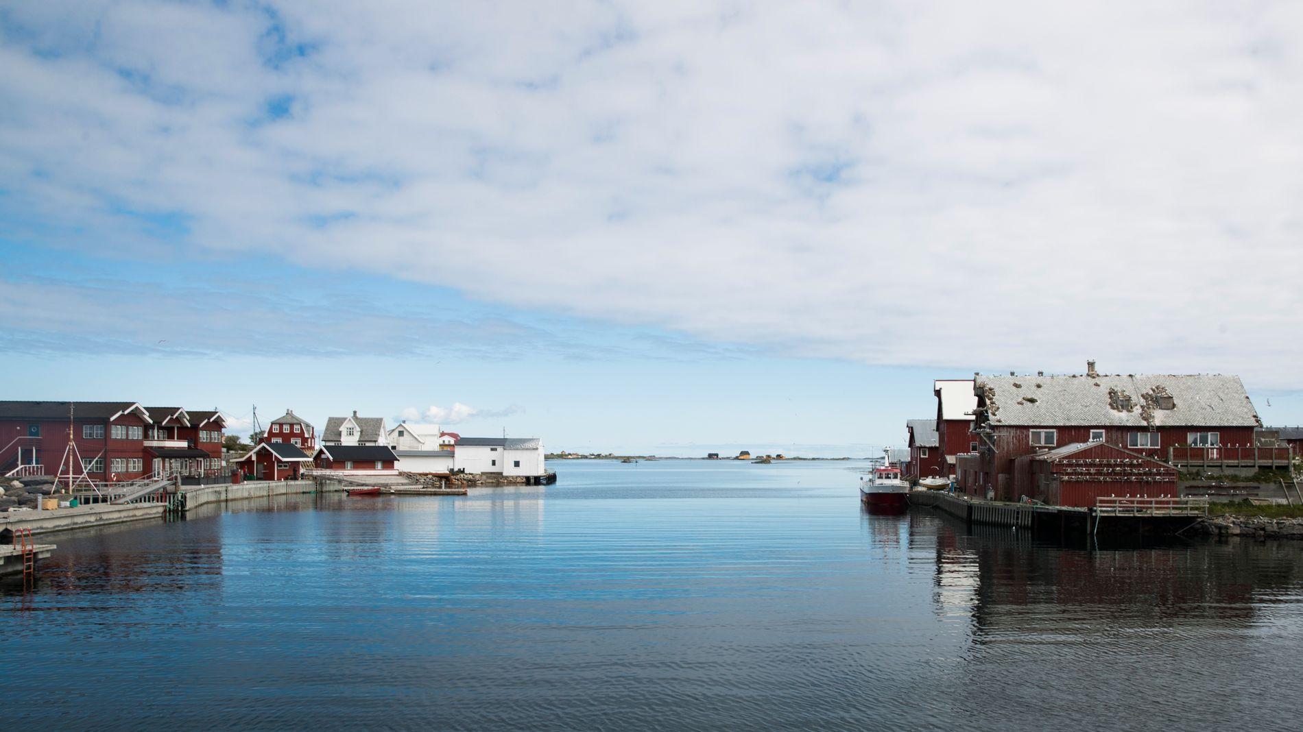 PÅ TOPP: Røst i Lofoten er kommunen med mest netthandel per innbygger.