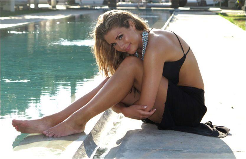 SEXY: Tone Damli Aaberge innrømmer at musikkvideoen er hennes mest nakne noensinne. Foto: TV2.no