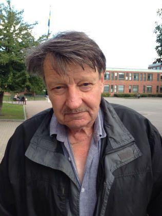 ER PENSJONIST: Ronald Nilsson (72) stemte på Sverigedemokraterna.