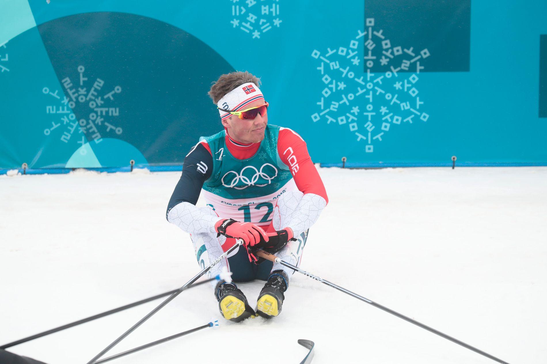 UTLADET: Emil Iversen, her etter femmila i OL, skal forsøke å avlsutte sesongen med stil, selv om han innrømmer at motivasjonen ikke er helt på topp etter OL.