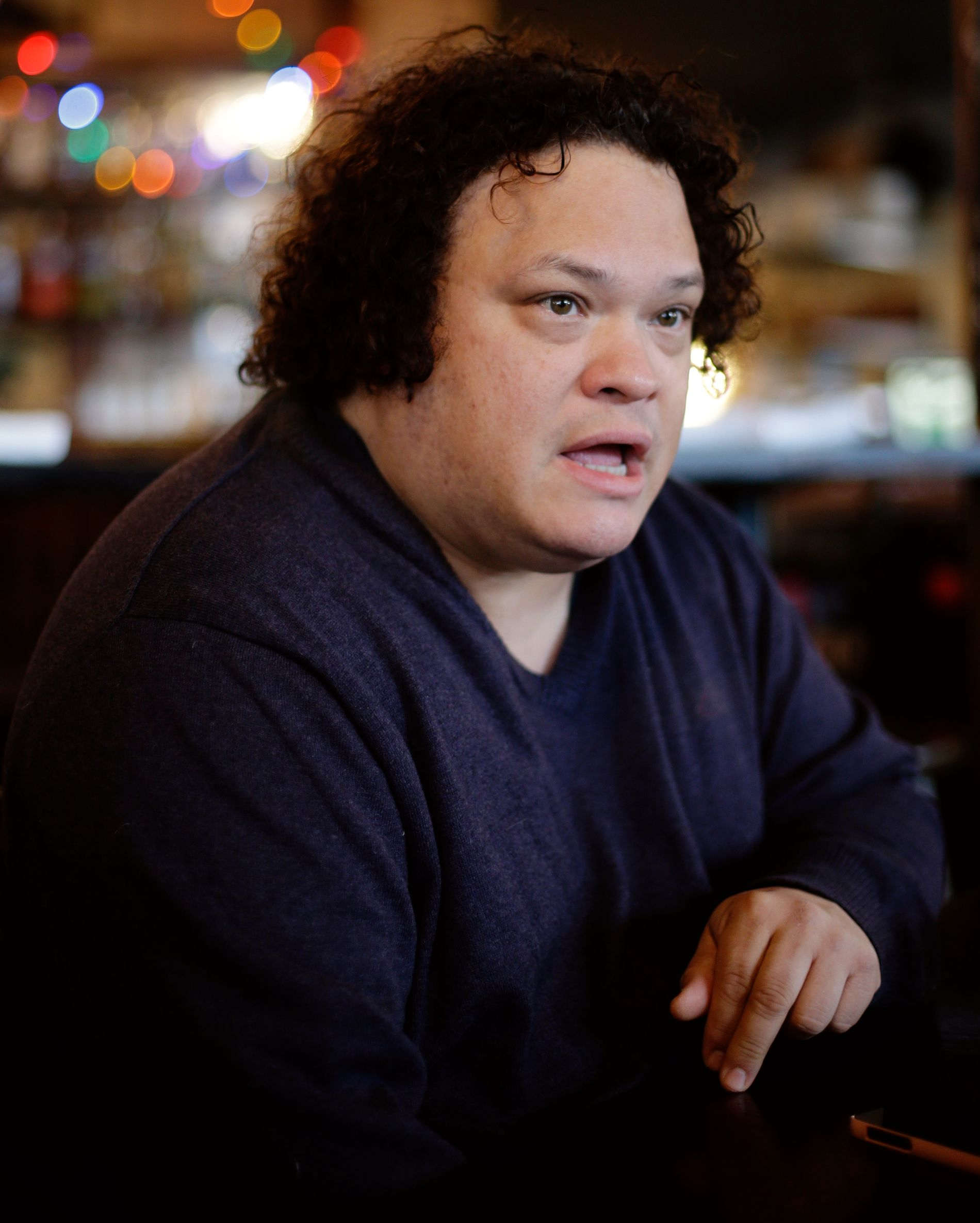 SPILLER MOT JOHNSEN: Adrian Martinez, som har en rekke store filmer på CV-en.