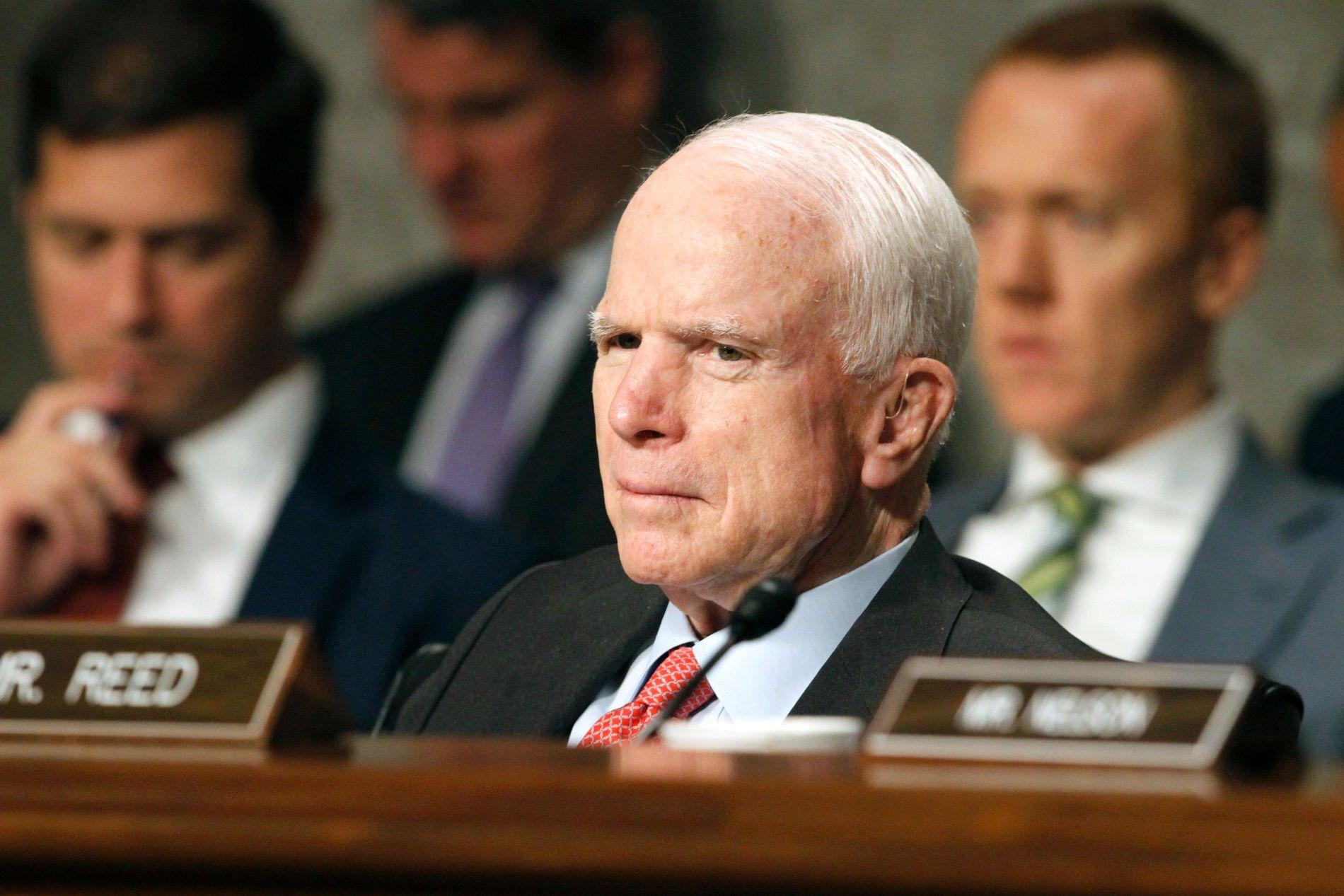Den 80 år gamle amerikanske senatoren John McCain er diagnostisert med hjernesvulst.
