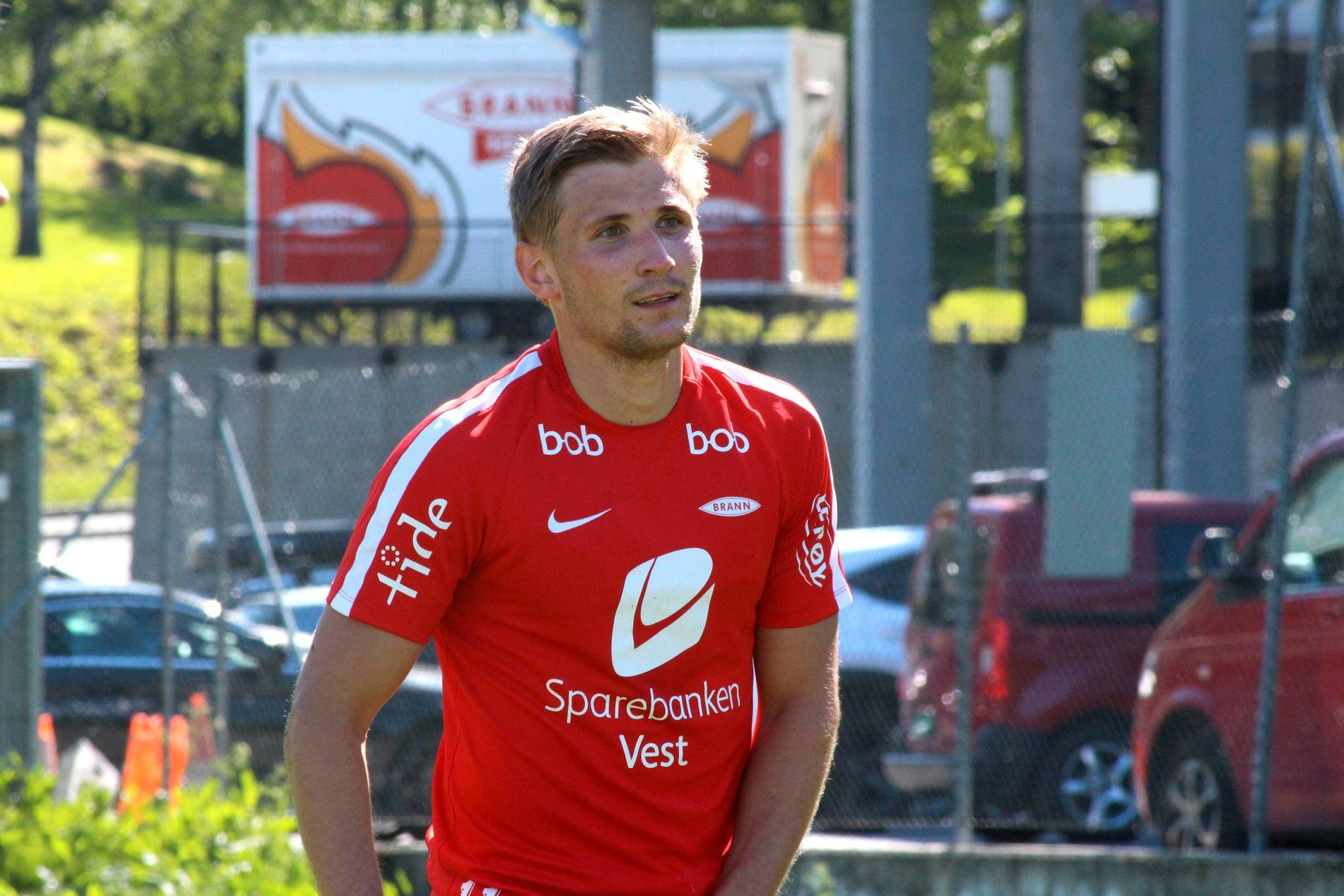 TOPPSCORER: Med sine seks scoringer er Steffen Lie Skålevik Branns toppscorer i Eliteserien.