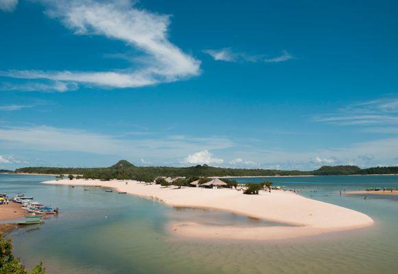 På strandferie i Amazonas