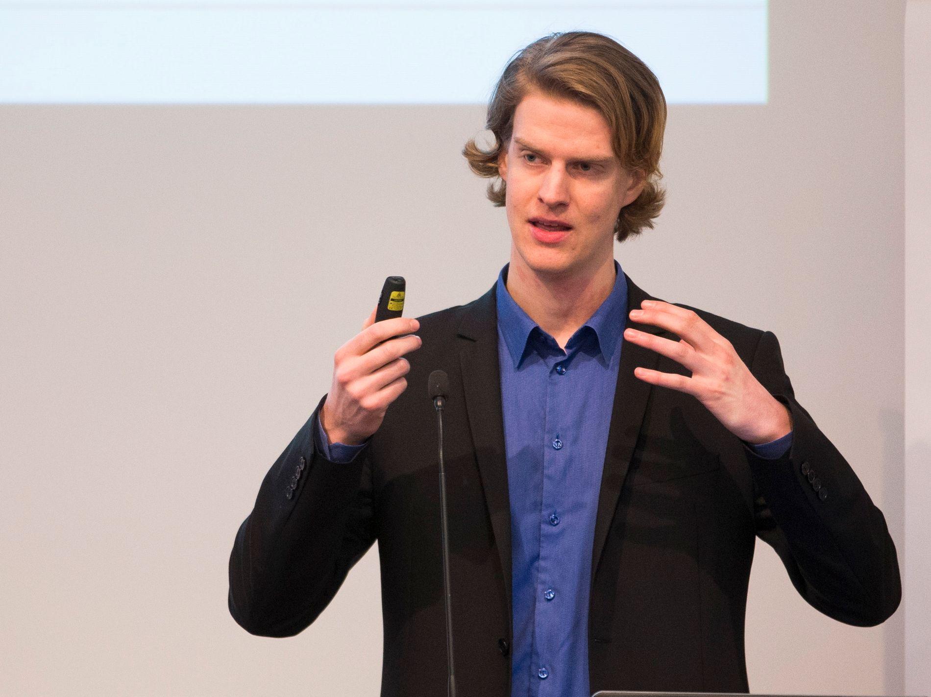 FORTSATT STIGNING: Analytiker i Menon Economics og ekspert på blokkjede-teknologi, Torbjørn Bull Jenssen mener bitcoin vil fortsette å stige i verdi i tiden fremover.