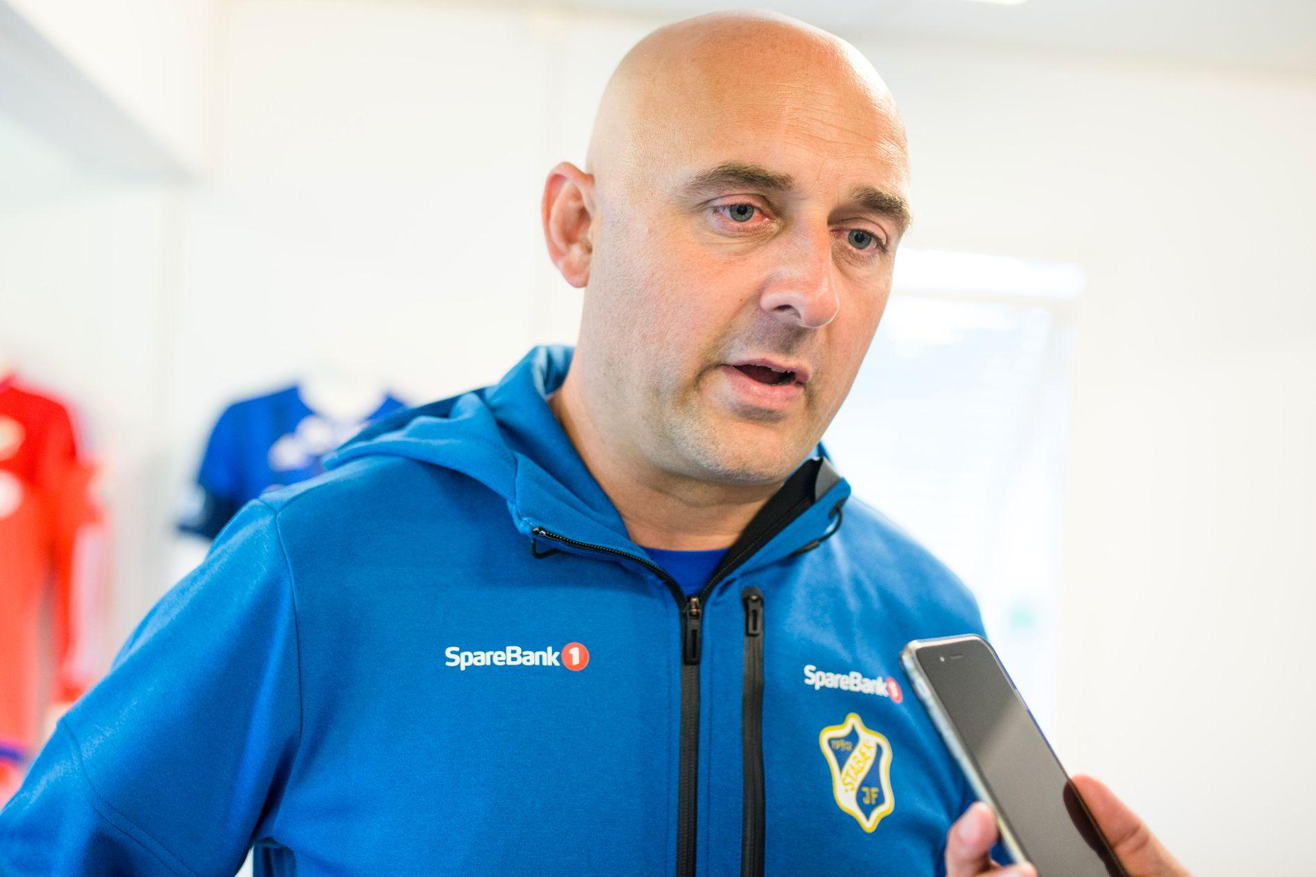 FERDIG: Toni Ordinas er ferdig som Stabæk-trener, etter to år.