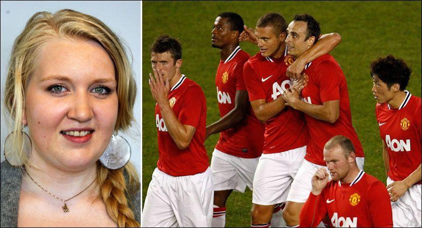 70b3ec6f FÅR MØTE HELTENE: Marte (17) ble rammet av angrepene på Utøya. Nå får hun  møte heltene i fotballklubben Manchester United. Foto: Privat/Afp