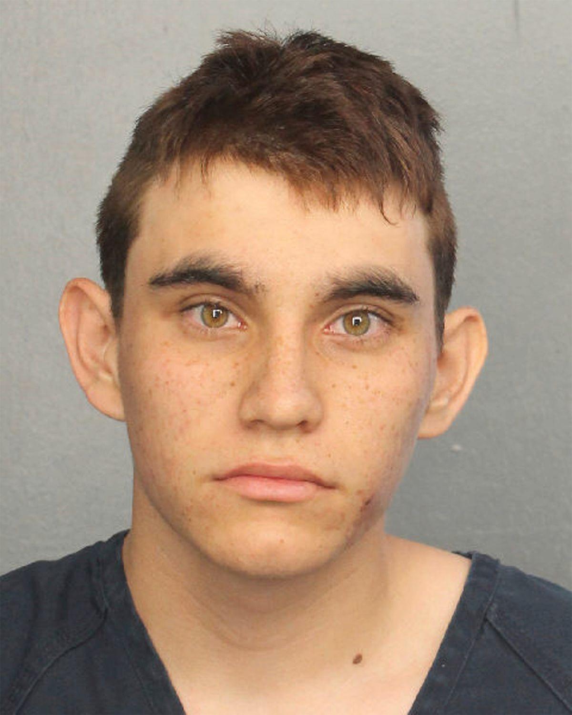 PÅGREPET: Politiet ved Broward County Jail har sendt ut dette bildet av Nikolas Cruz, som er pågrepet etter massakren på Douglas High School i Florida der 17 ble drept og enda flere skadet.