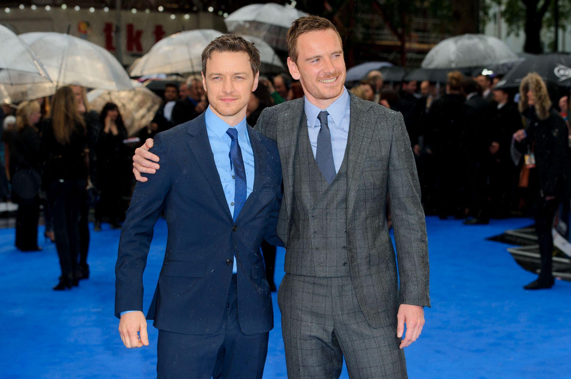 NY «X-MEN»: James McAvoy og Michael Fassbender i den fjerde filmen i serien om X-Mens opprinnelse.