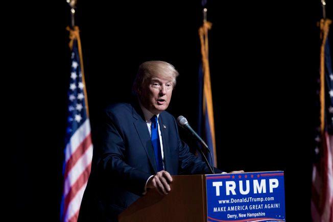 TOPPER LISTEN: Donald Trump, og hans alle kontroverser, har vært med og gjort at neste års presidentvalg i USA har blitt kraftig snakket om på Facebook.