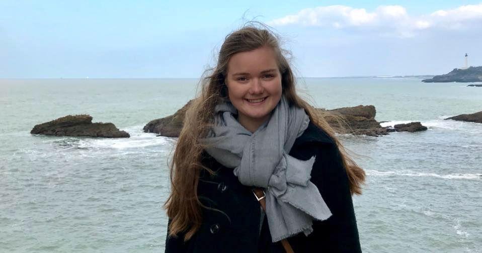 STUDENT: Norske Marie Sæther Østbø er savnet i Sør-Afrika. VG bruker bildet i samråd med Østbøs familie.