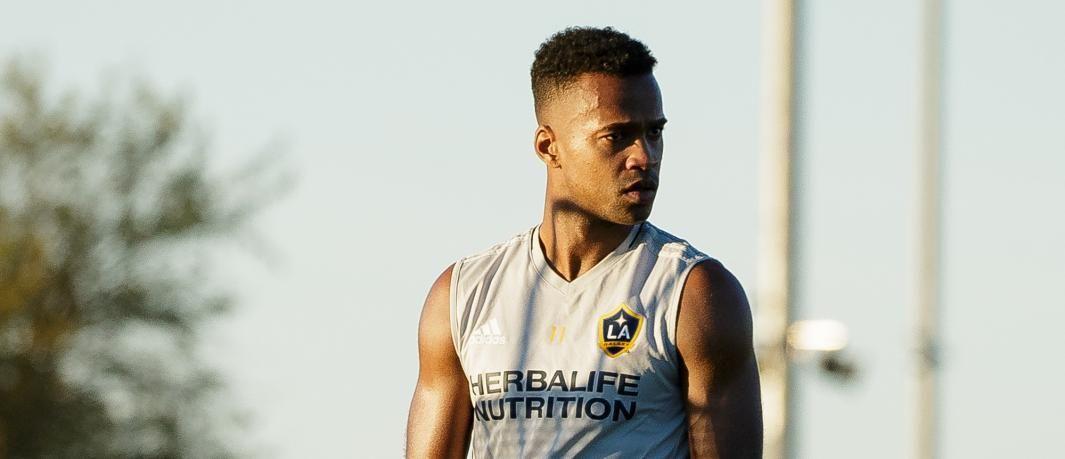 GALAXY-STJERNE: Ola Kamara sier til VG at han trives veldig godt i California.