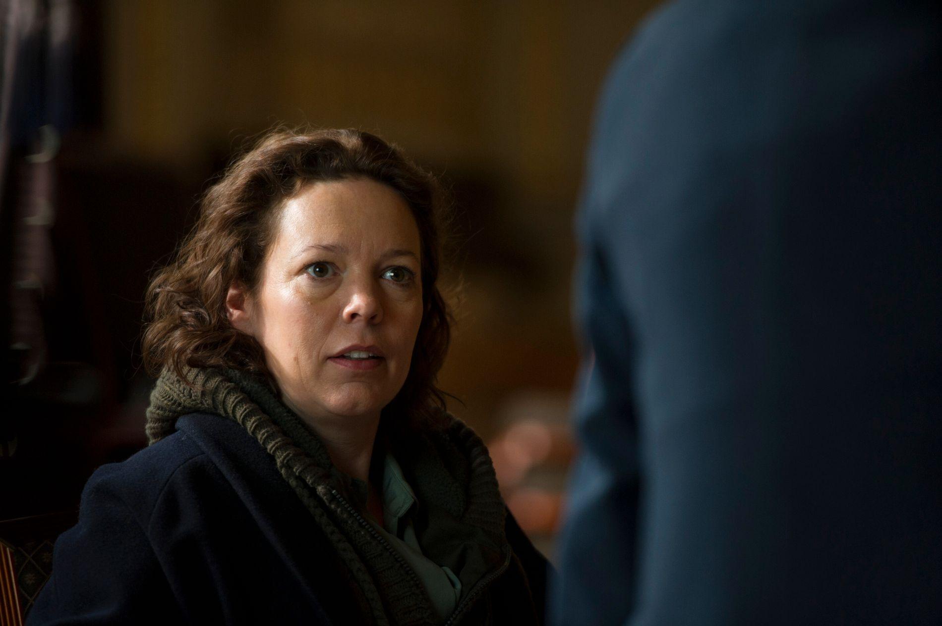 DRIFTIG DAME:  «Broadchurch»-stjernen Olivia Colman har også en stor rolle i «The Night Manager».