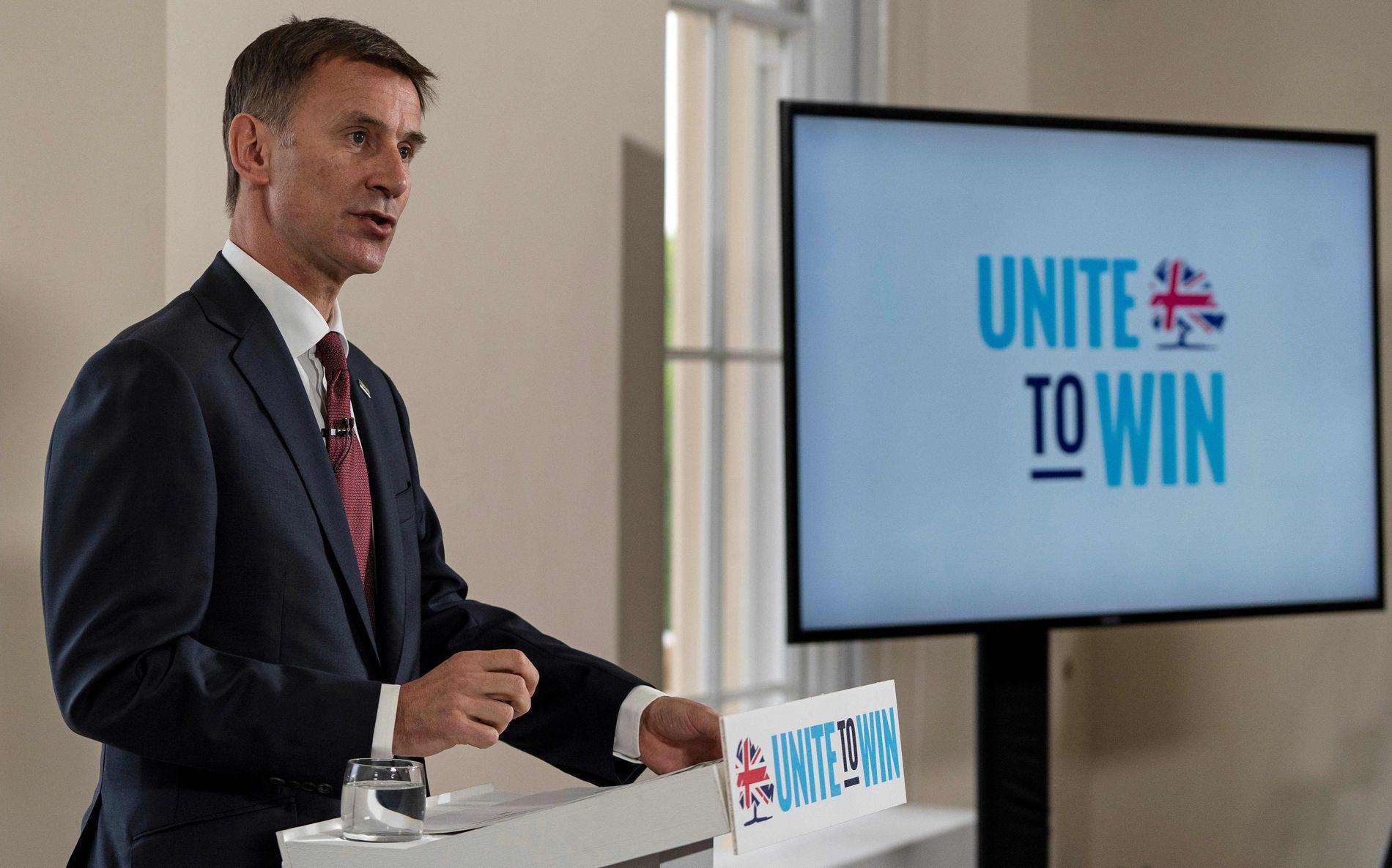VIL HA JOBBEN: Jeremy Hunt er en av 11 som vil bli partileder og statsminister.