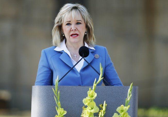 Vil oppklare hva som skjedde: Guvernør i Oklahoma, Mary Fallin, sier i en pressemelding at det nå vil bli foretatt en gjennomgang av prosedyrer for å finne ut av hva som gikk galt. Foto: Ap/Scanpix