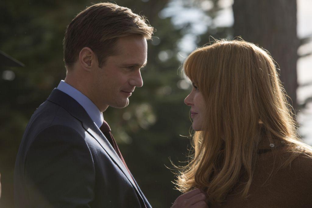 POWERPAR: Alexander Skarsgård og Nicole Kidman bærer på en hemmelighet. FOTO: HBO.