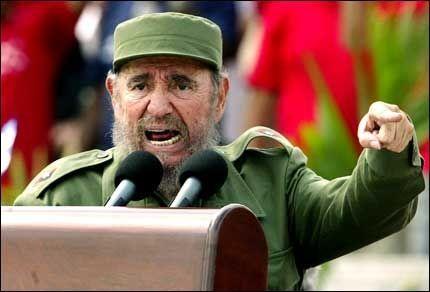 I 80 ÅR TIL: - Fidel vil nok leve i 80 år til, sa Cubas visepresident, Carlos Lage, ifølge nyhetsbyrået AP. Neste søndag fyller Cubas president, Fidel Castro (bilde), som har regjert siden 1959, 80 år. Foto: AP