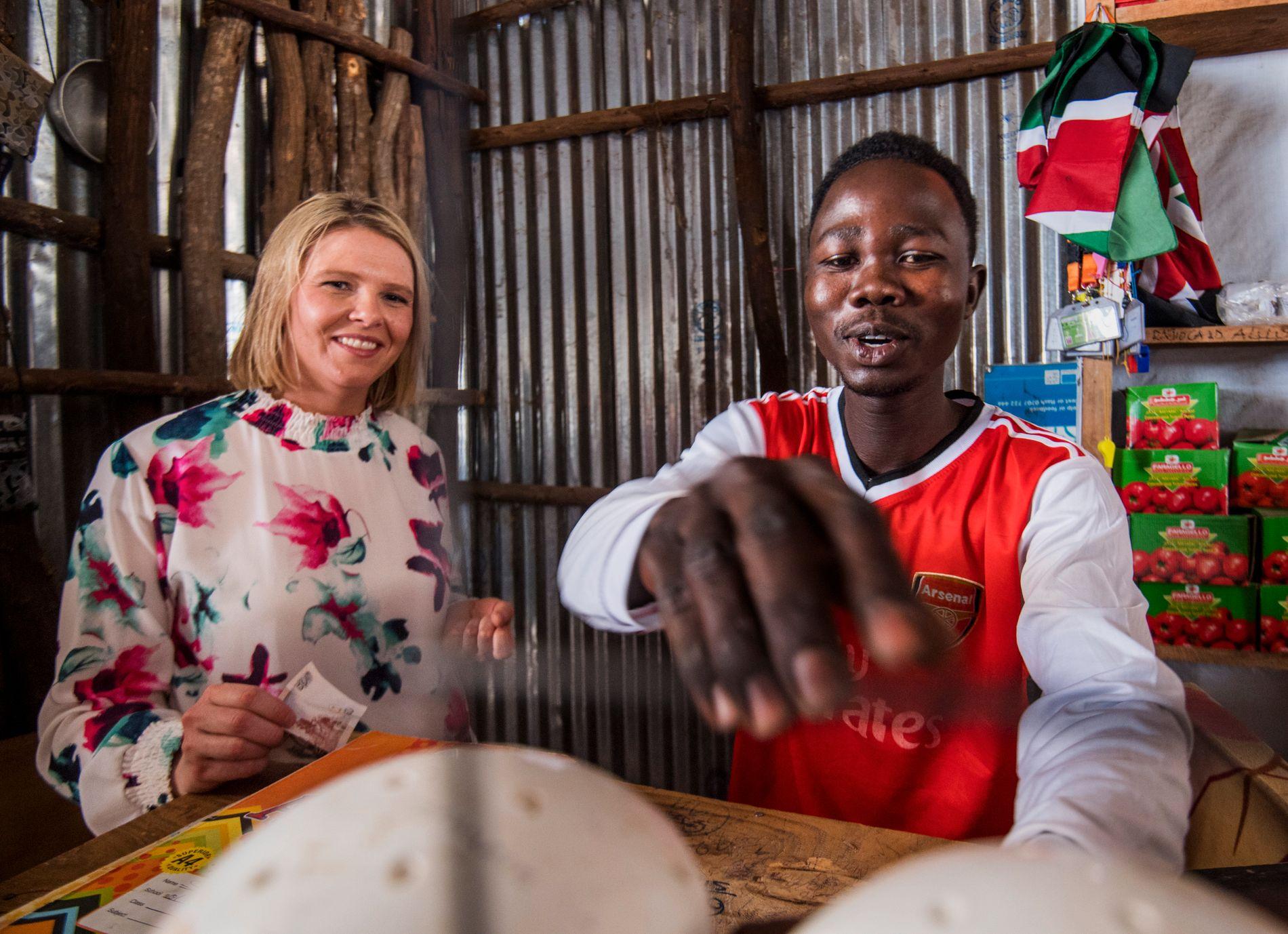 FLYKTET: Kawaja flyktet fra Darfur til Kenya og endte opp i Kakuma-leiren.