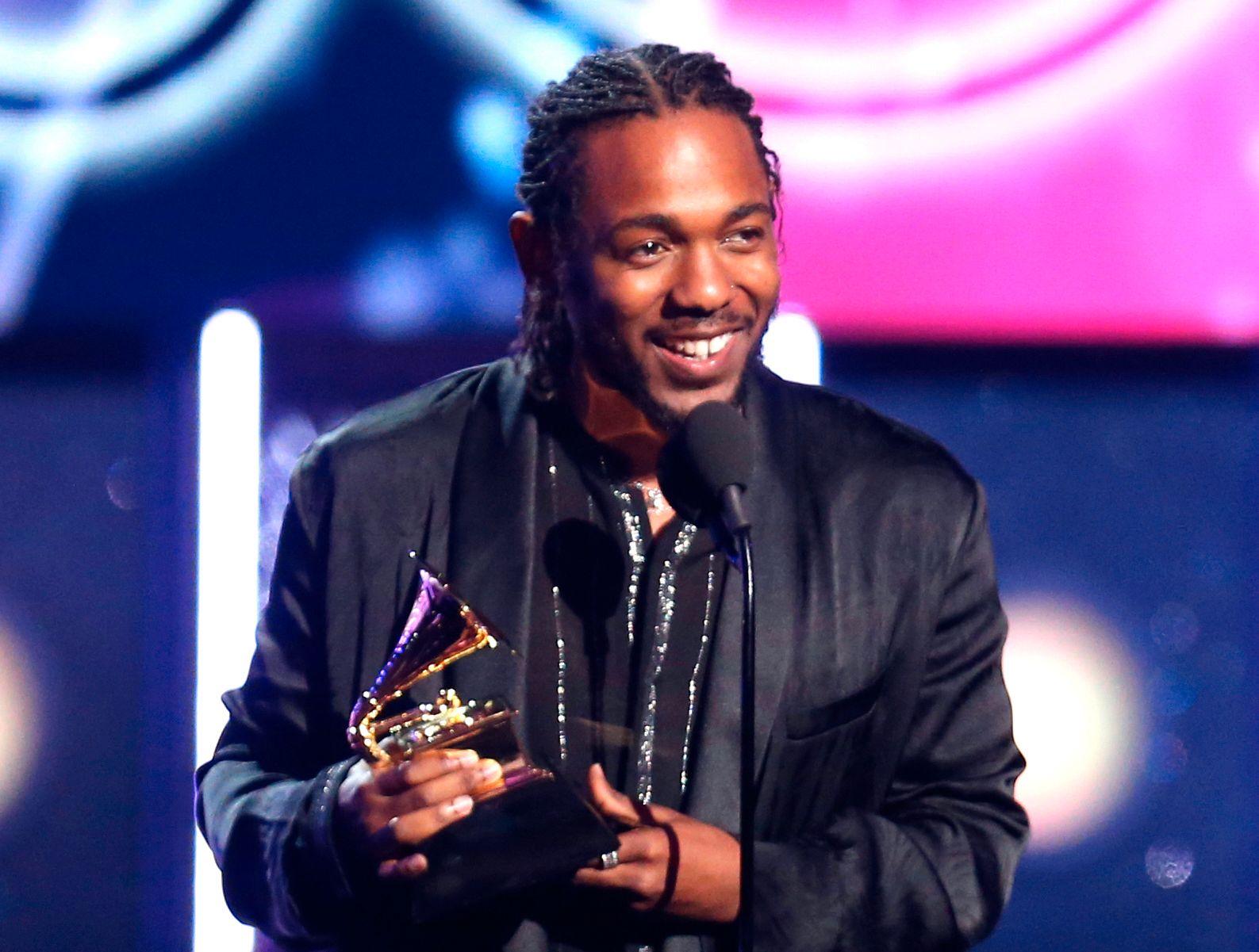 VINNER: Tidligere i år vant Kendrick Lamar fem Grammys. I dag vant han en Pulitzer-pris.