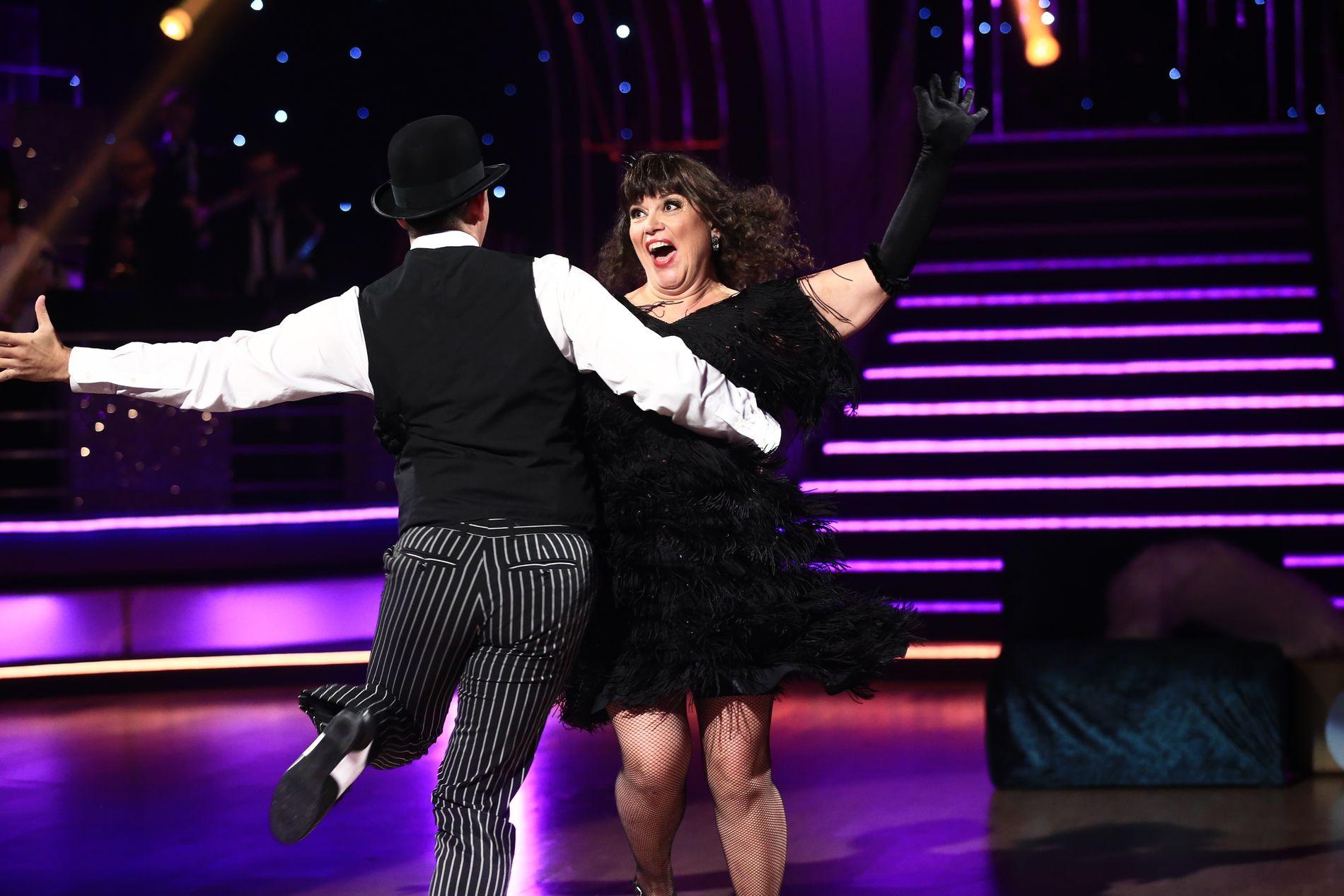 UTE AV DANSEN: Jenny Jenssen danset for siste gang i kveld