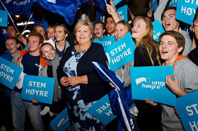VGs politiske kommentatorer har løftet frem statsminister Erna Solberg (H) som sin favoritt etter dagens partilederdebatt.