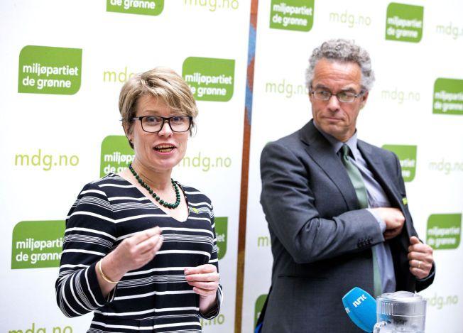 KORTREIST ELLER KORTTENKT? Talspersoner Hilde Opoku og Rasmus Hansson i Miljøpartiet De Grønne (MDG) vil støtte forsøk med lokale valutaer i Norge.