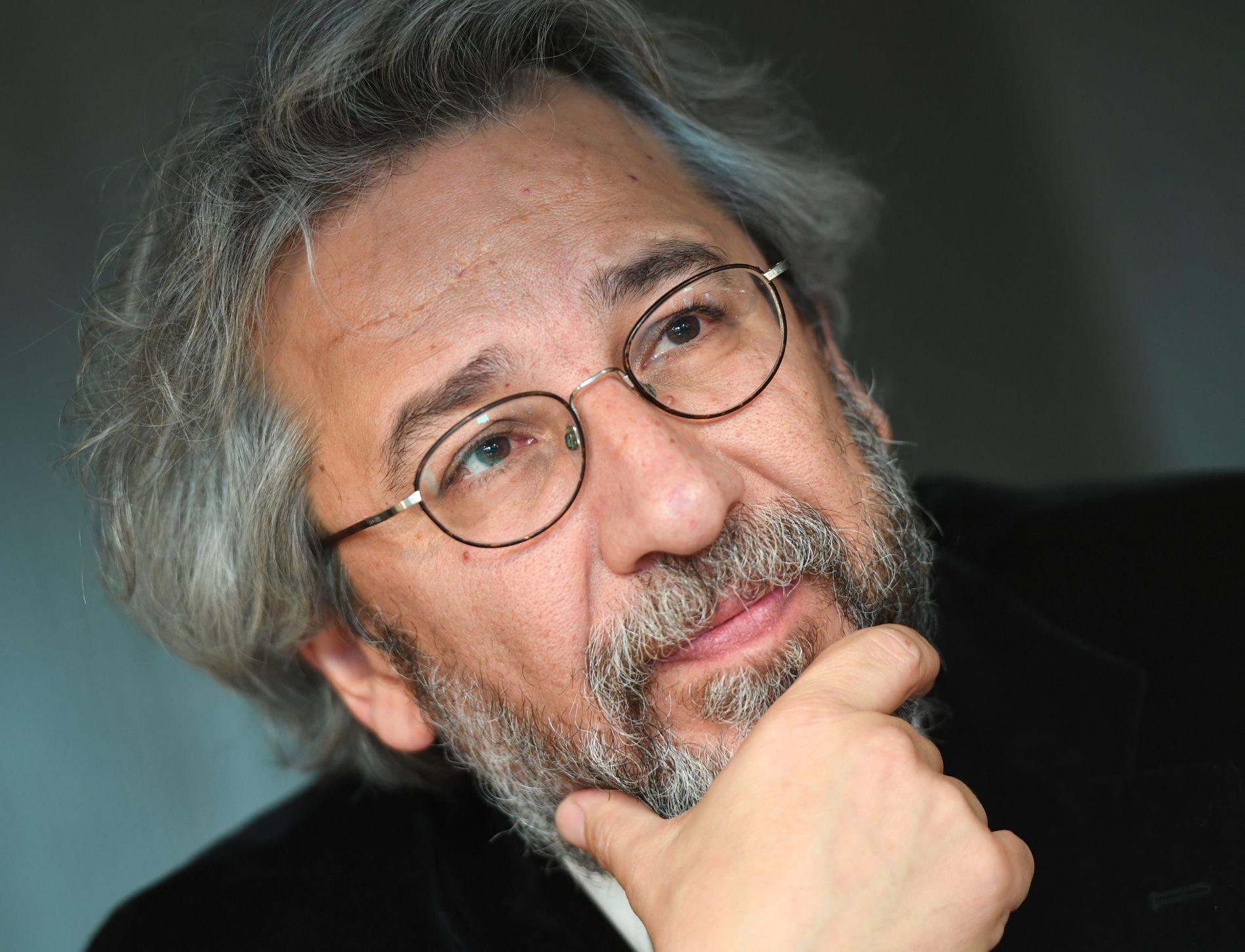 AKTUELL: Den tyrkiske Cumhuriyet-redaktøren i eksil, Can Dündar.