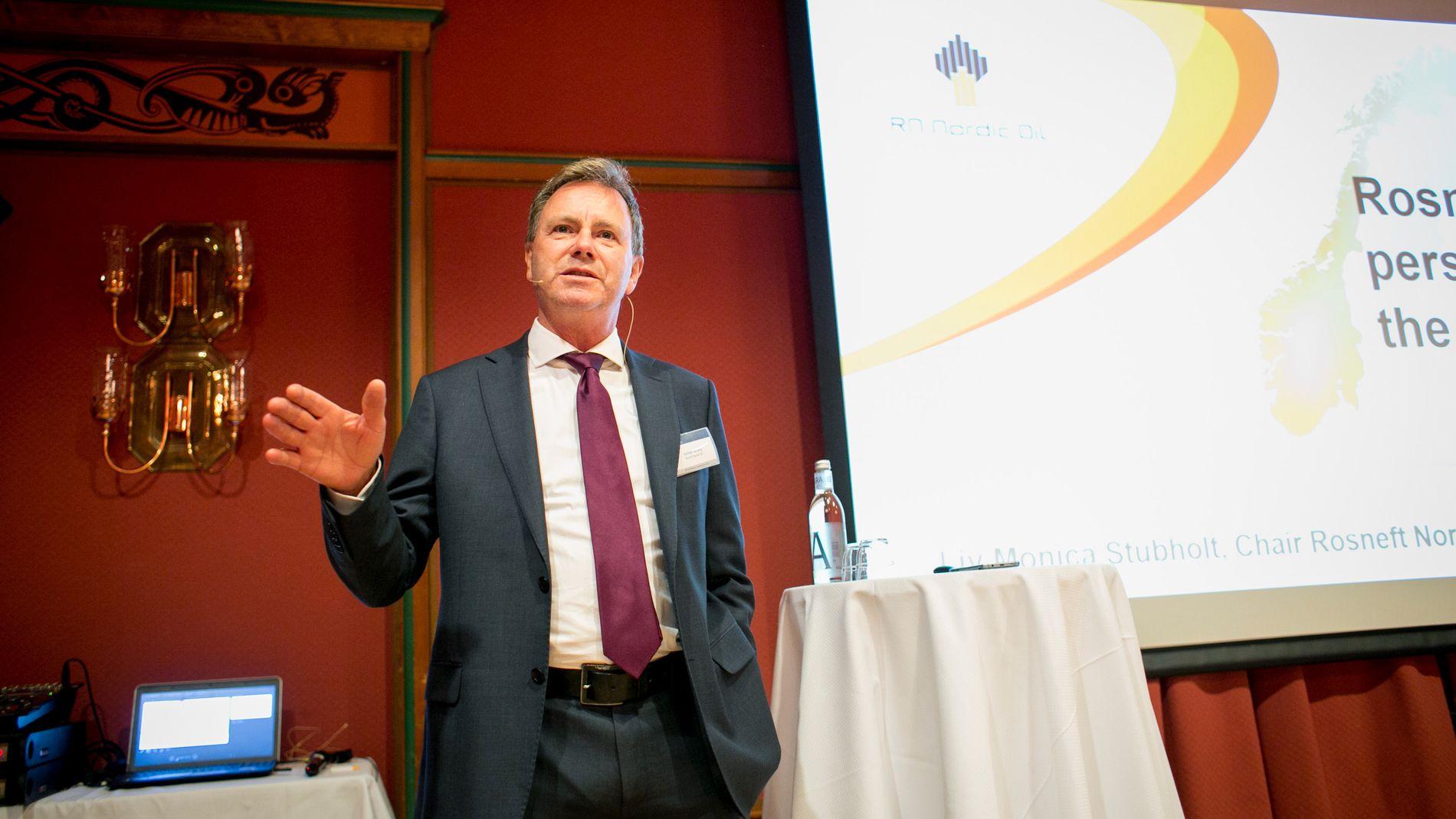 Halfdan Millang sjef for Rosnefts norske datterselskap
