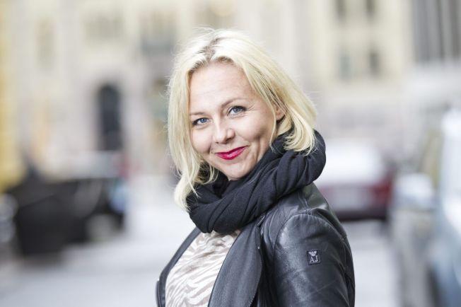 NYFORELSKET: Linn Skåber har vært singel en stund, men nå har hun fått seg ny kjæreste. Det er slett ikke verst, synes hun.