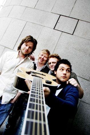 DE FORRIGE KAMERATENE: Espen Lind, Kurt Nilsen, Askil Holm og Alejandro Fuentes i 2006. Foto: NTB SCANPIX