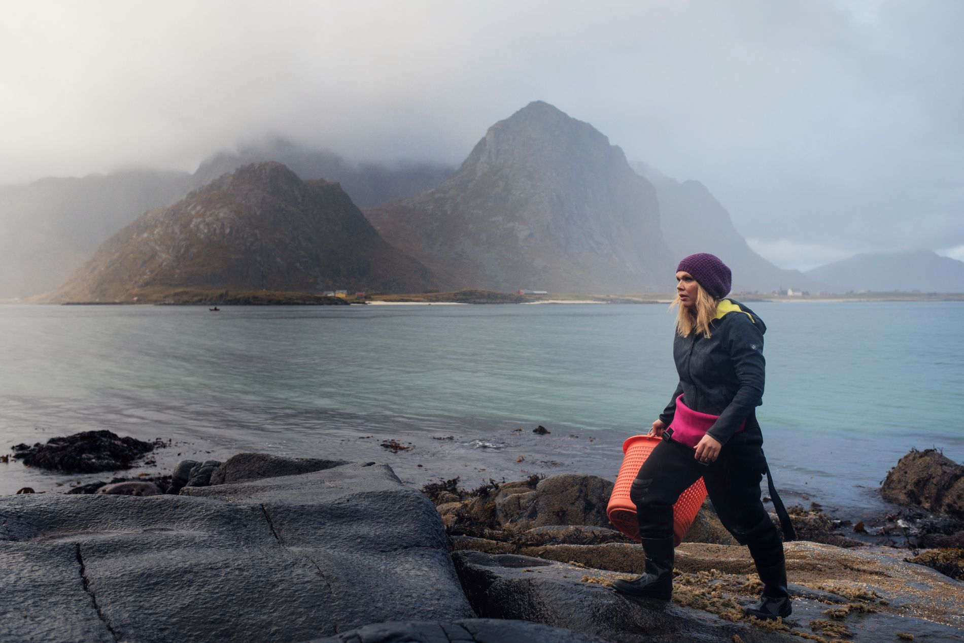 Angelita Eriksen jobbet som fysioterapaut i Oslo i mange år, før hun flyttet hjem og startet et tangfirma.