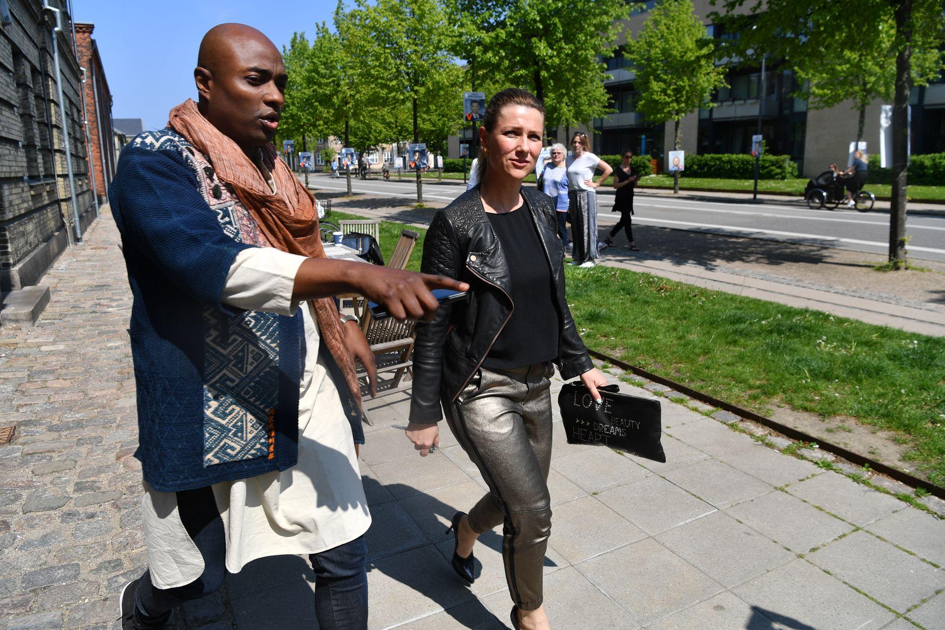 TRE TIMER: 45 personer hadde kjøpt billetter til søndagens tre timer lange arrangement i København.
