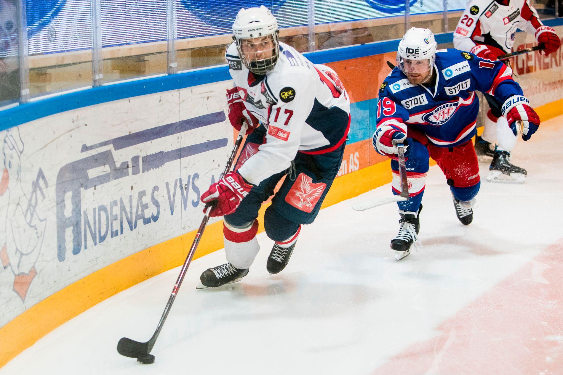 Lørenskog ishockey står på kanten av stupet. Foto: Tore Meek / NTB scanpix