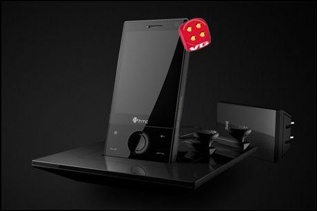Lekker trykkskjermsmobil som har det meste. Foto: HTC