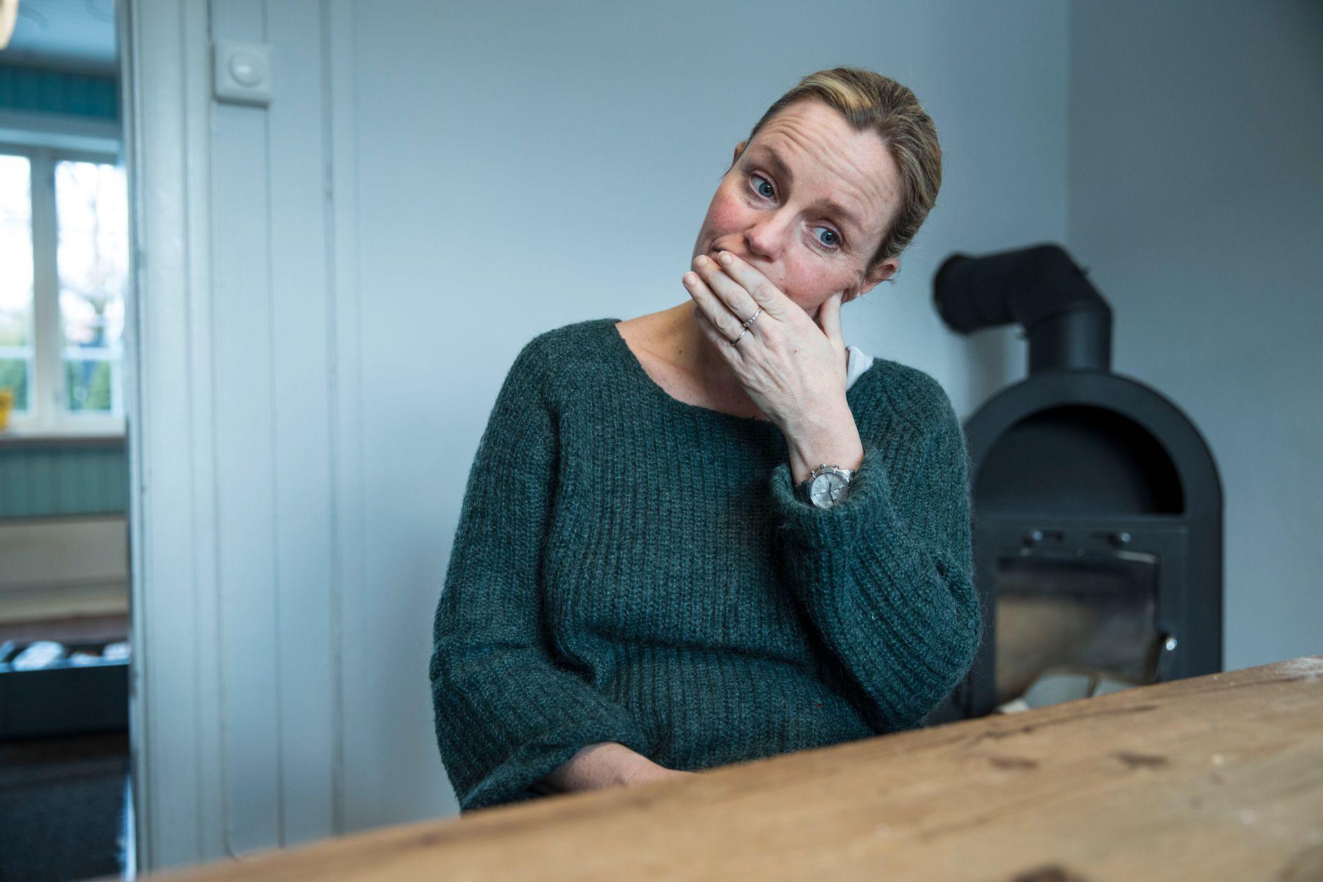 NY SERIE: Solveig Kloppen er aktuell med serien «Det jeg ikke fikk sagt» på TV 2. Til A-Magasinet forteller hun om hvordan livet hennes endret seg brått midt under innspillingen.