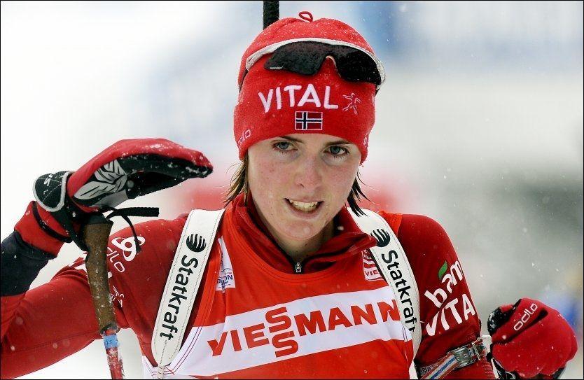 HAR SLITT: Men i morgen konkurrerer Julie Bonnevie-Svendsen igjen. Foto: Scanpix