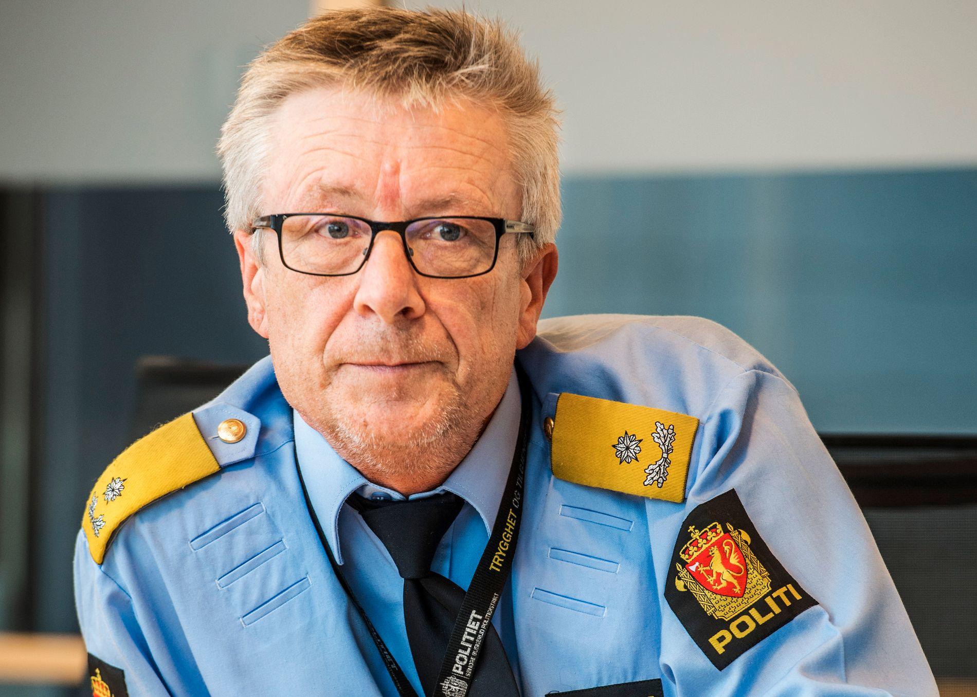 VRAKET: Fungerende politileder Jan Erik Strøm fikk ikke jobben som sjef for operasjonssentralen i Sør-Øst politidistrikt.