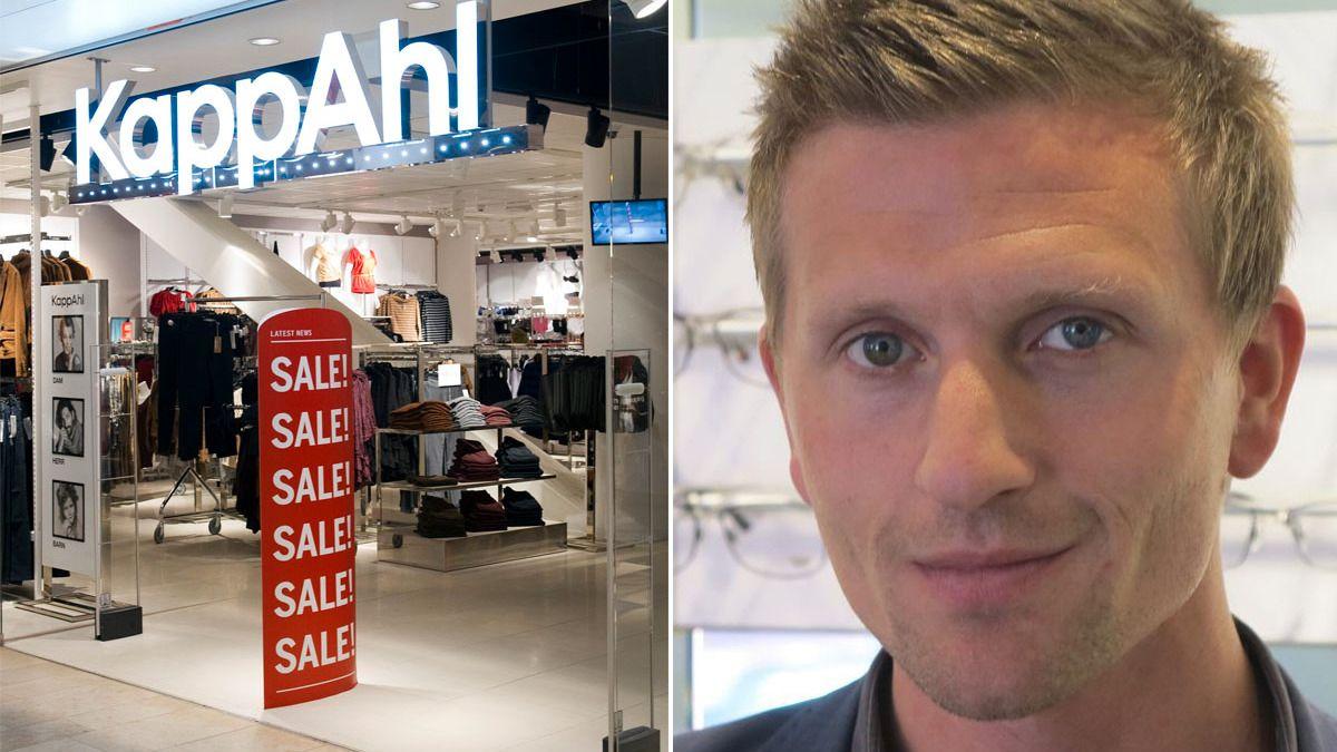 MILLIARDBUD: Mellby Gård vil kjøpe Kappahl med et bud som verdsetter selskapet til 1,4 milliarder kroner. TIl høyre er Johan Andersson, som er sjef i Mellby gård.