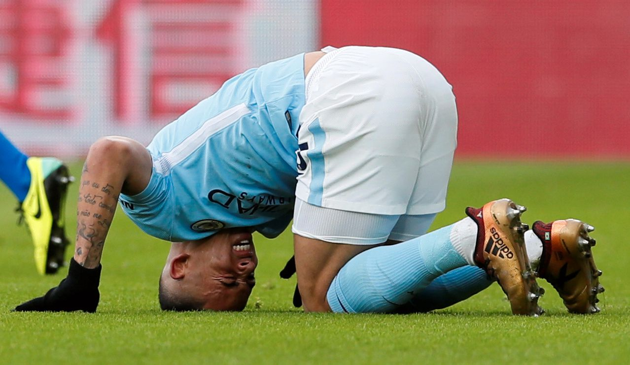 VERRE ENN VENTET: Manchester City-stjernen Gabriel Jesus blir ute i mange uker med en kneskade.