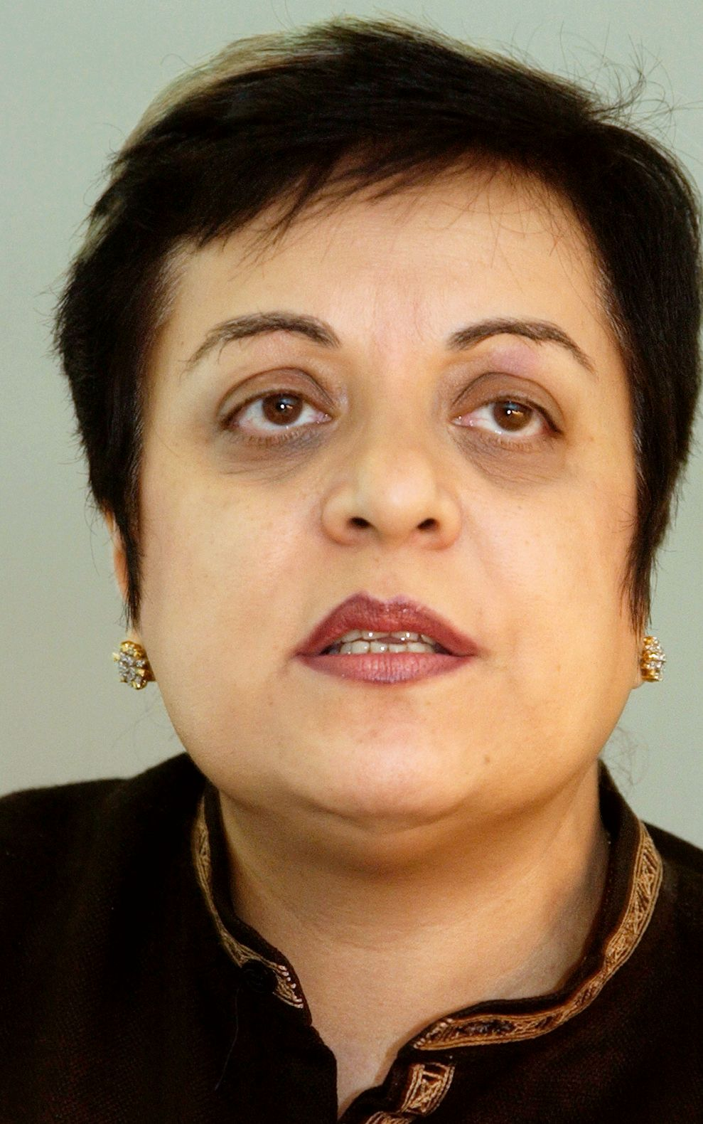 NEKTER: Shireen Mazari sier at Twitter nektet å stenge konto som har oppfordret til voldelige protester.