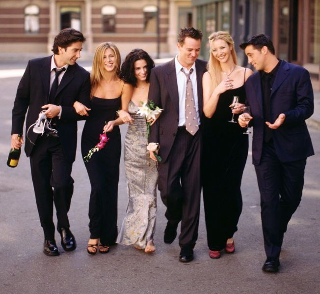 VENNER FOR LIVET? David Schwimmer, Jennifer Aniston, Courteney Cox, Matthew Perry, Lisa Kudrow og Matt LeBlanc.
