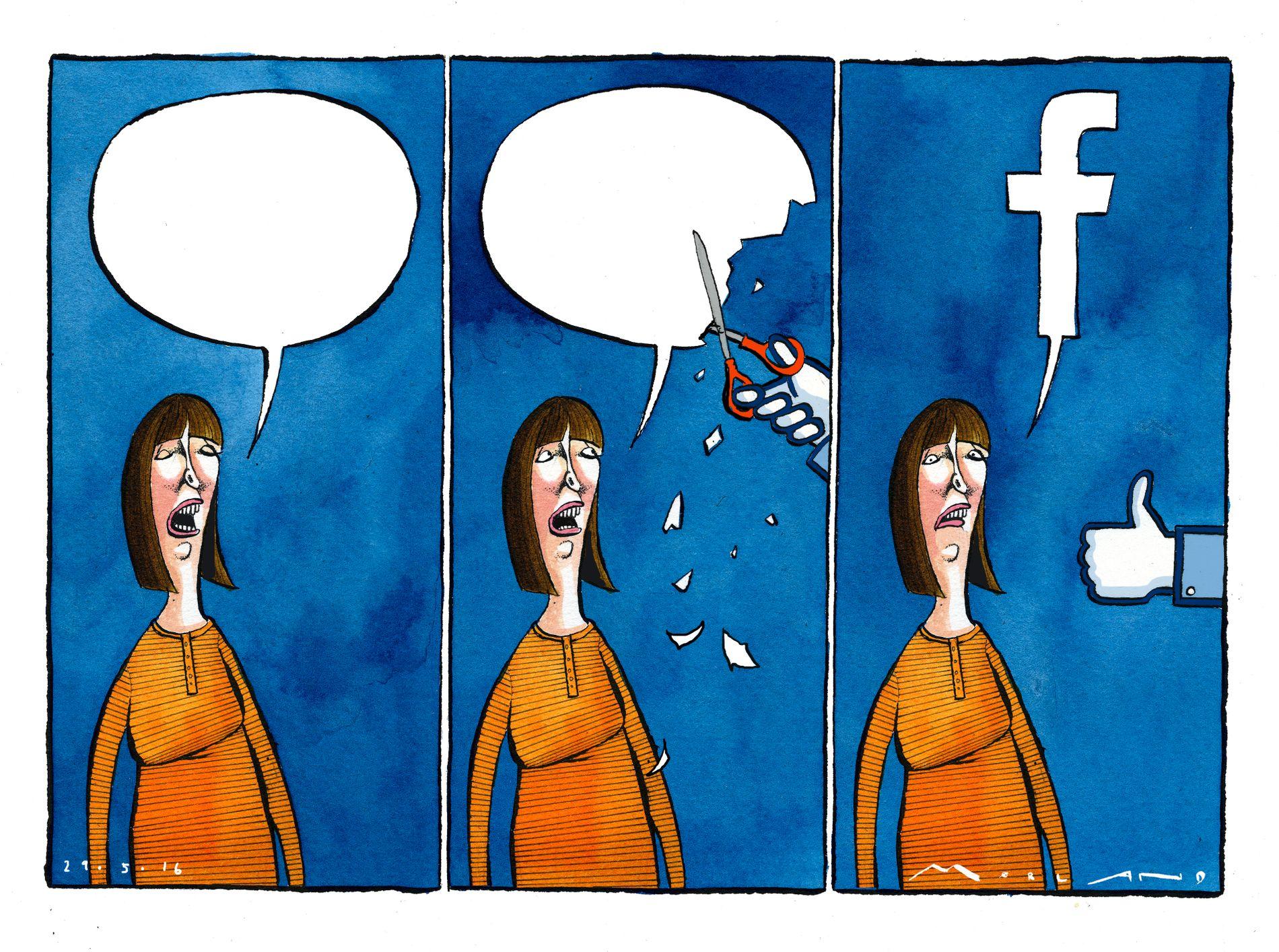 NYE TIDER: Siden forrige ytringsfrihetskommisjon, ledet av Francis Sejersted, har verden endret seg voldsomt. Vår virkelighet er en helt grunnleggende annerledes, ikke minst på grunn av Facebook, skriver kronikkforfatteren.
