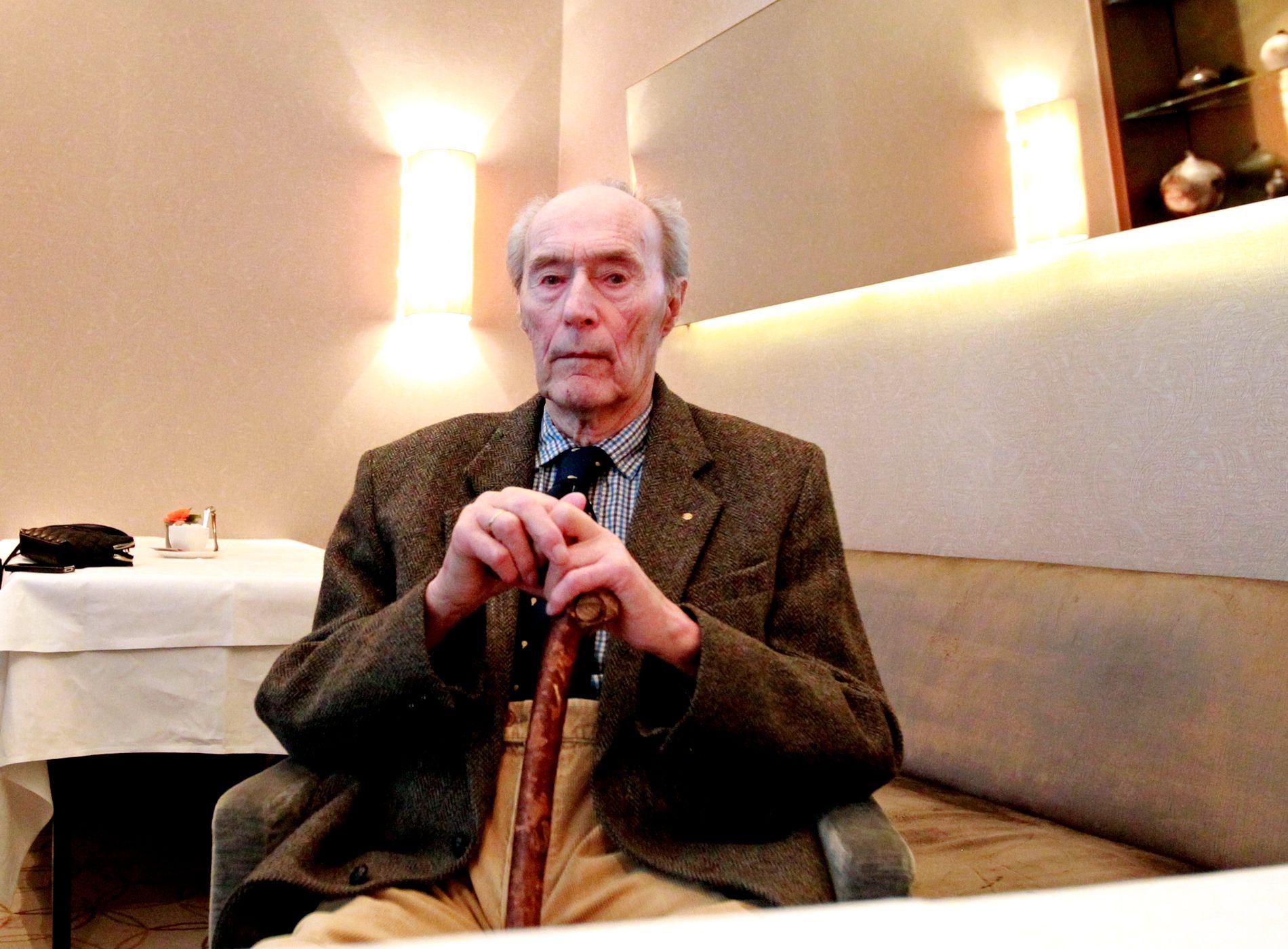 KRIGSHELT: Joachim Rønneberg var en norsk motstandsmann som i årene 1941–1945 var medlem av Kompani Linge.