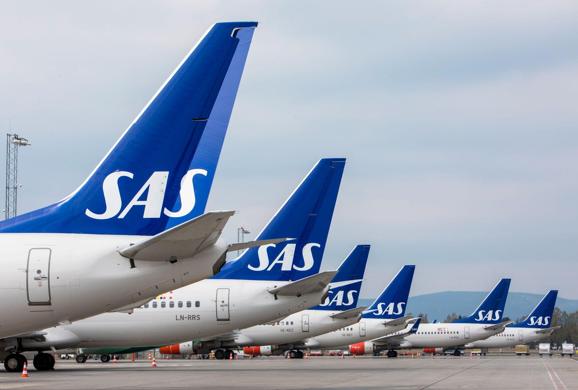 Det var i sekstiden fredag morgen at rundt 1.500 SAS-piloter gikk ut i streik etter at meklingen med NHO Luftfart brøt sammen. Siden den gang har SAS og pilotforeningen jobbet for å komme til enighet, men enn så enge har de ikke blitt enige om en avtale. Foto: Ole Berg-Rusten / NTB scanpix