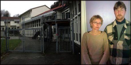 GIKK I DEKNING: Søskenene Birgith og Geir Owe Jevne føler seg sviktet av systemet, etter at broren ble drept i 2005. Da den psykisk syke drapsmannen rømte fra Sandviken sykehus (til venstre) ett år senere, ble de varslet av media. Foto: Hallgeir Vågenes og privat