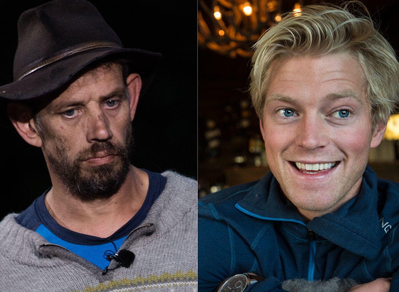 LETTET: Både Leif Einar Lothe (t.v.) og Eilev Bjerkerud slipper med «skrekken».