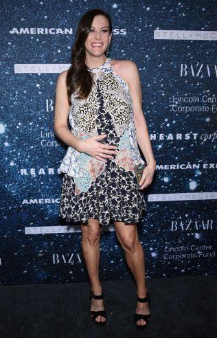 GRAVID: Skuespiller Liv Tyler deltok på et arrangement i november.
