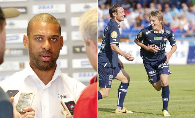 INGEN LANDSLAGSHAST: Godset-trener David Nielsen mener Martin Ødegaard må spille seg inn i lagets førsteellever før man kan snakke om landslagsspill.