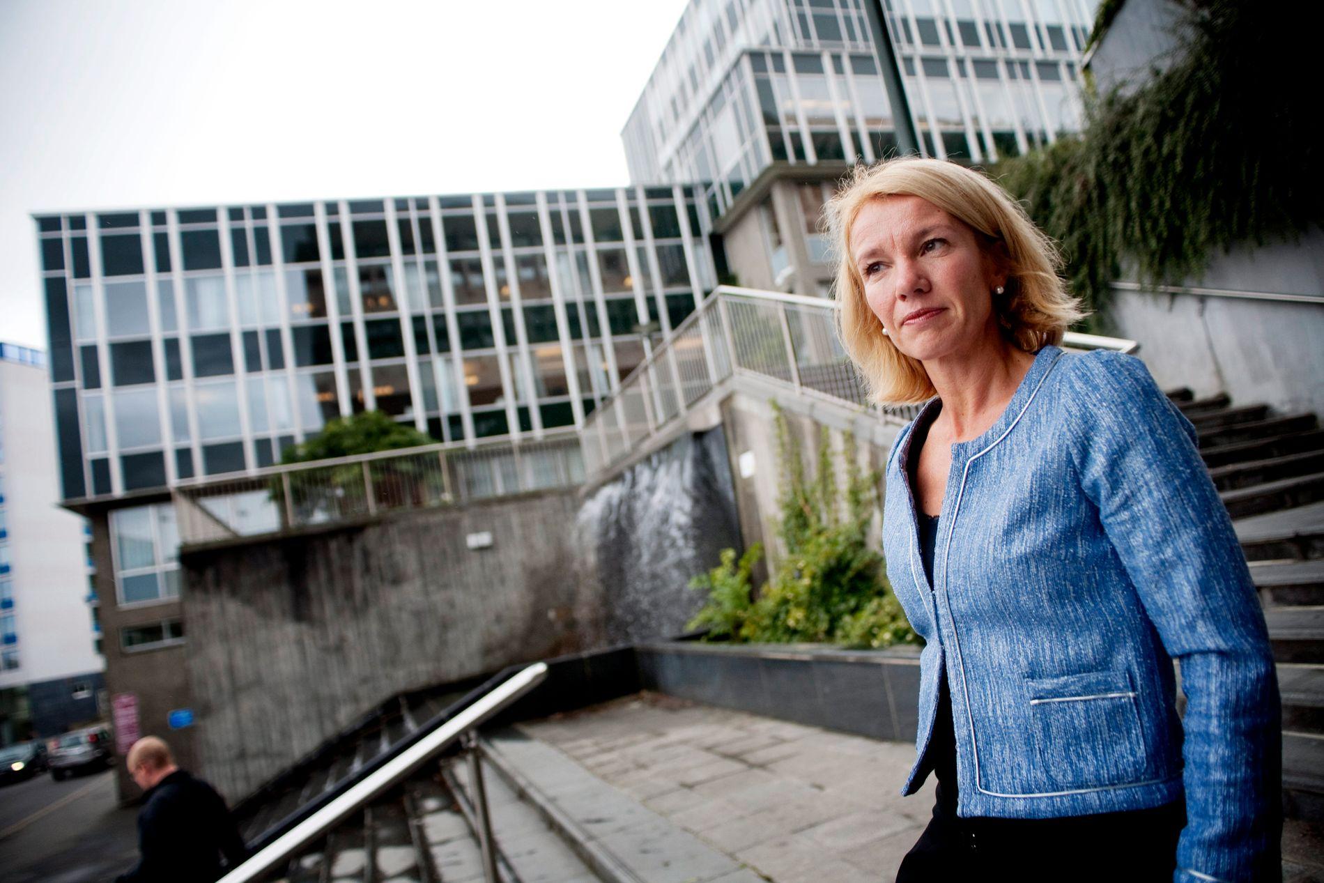 HAR FORSTÅTT: Stavanger-ordfører Christine Sagen Helgø forsikrer at aksjonistenes budskap er forstått. Hun ble svært overrasket da rundt 50 bompengeaksjonister kuppet mandagens bystyremøte.