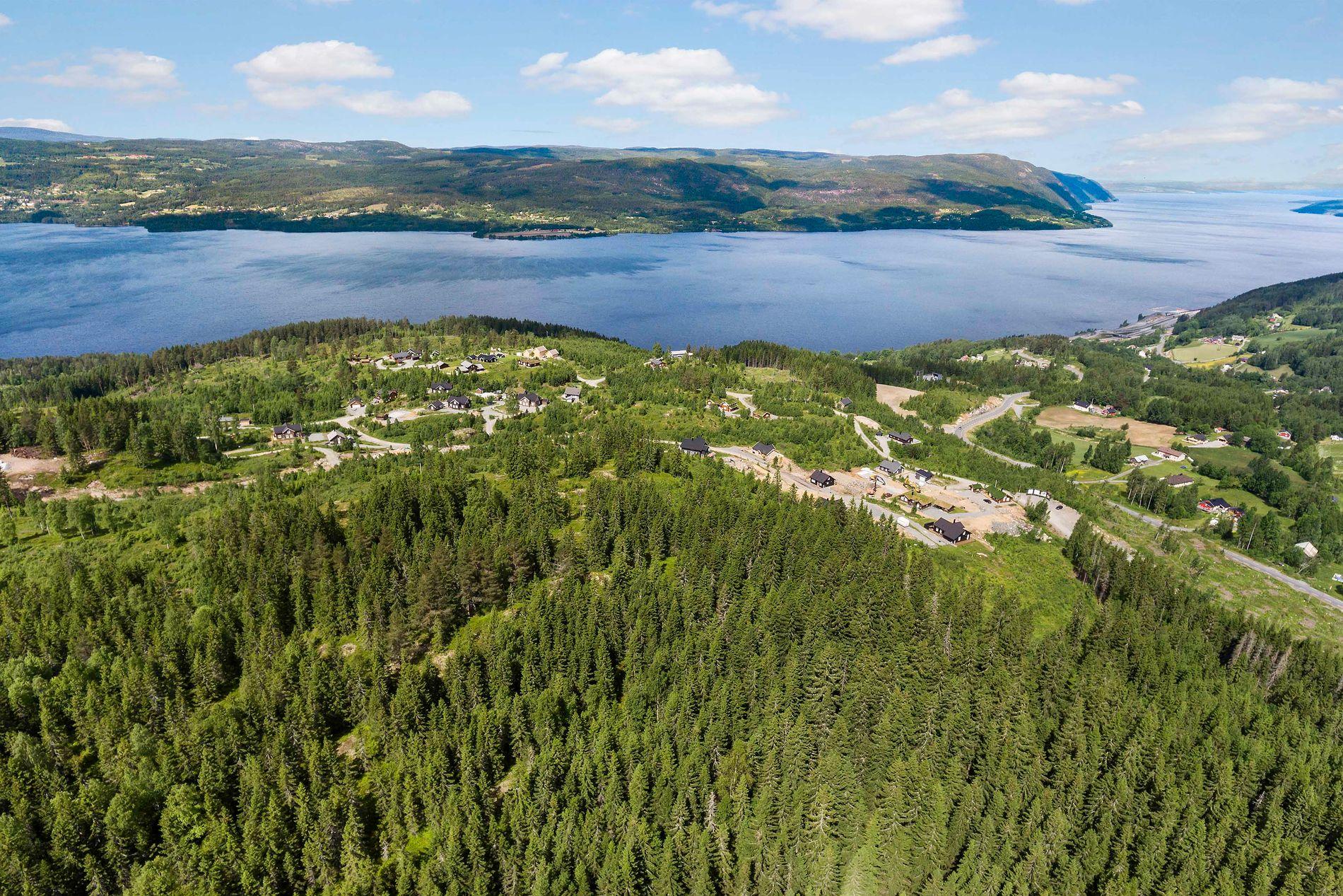 SOMMER: Gode badeforhold og mulighet for å få båtplass på Mjøsa venter hytteeiere på Mjøsli.